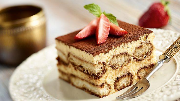 Итальянский десерт с маскарпоне
