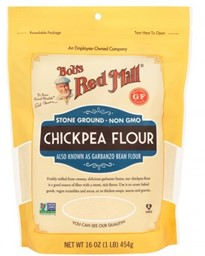 Изображение Bob's Red Mill - Chickpea Flour GF мука из нута без глютена 454 г