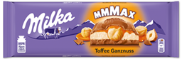 "Изображение Milka Mmmax шоколад молочный ""Toffee Wholenut Caramel"" 300 г"